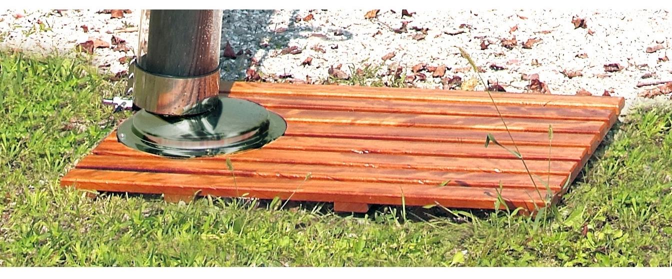 bodenplatte aus echtholz teak f r solarduschen aussenduschen aussen duschen 80x120cm duschplatte. Black Bedroom Furniture Sets. Home Design Ideas